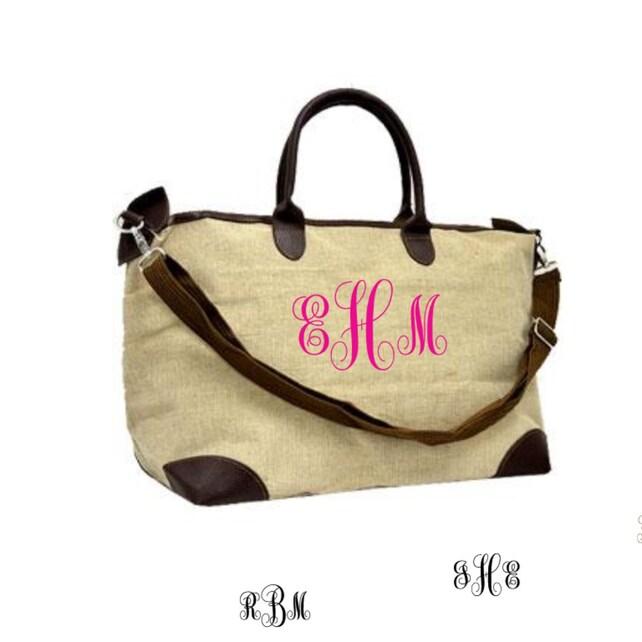 144ec3d70000 Personalized Jote Tote Bag weekender bagluggge large
