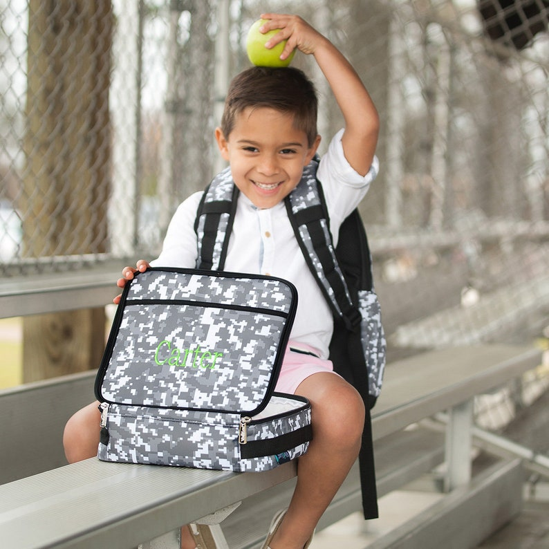 backpack water bottles,gym bags earbud case,notebooks Personalized back to school bags pencil case ID case lunch box