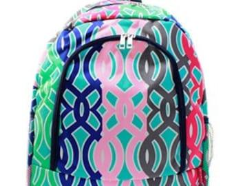 Persoanlized book bag, backpack, Monogrammed Book Bag, Back to School, School Book Bag, Back Pack,Large book bag, luggage,travel back pack