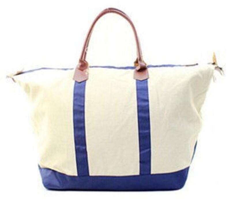 83e18d38ccf Monogrammed navy Ladies Large Weekend Bag, Tote Bag, Large Tote Bag,  Personalized Weekender Bag, Luggage, Monogrammed Tote Bag, Duffle bag
