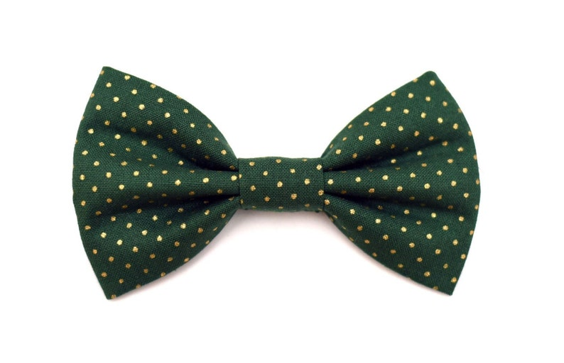 The Conifer Bow Tie Brooklyn Bowtied Dog Bow Tie Polka image 0