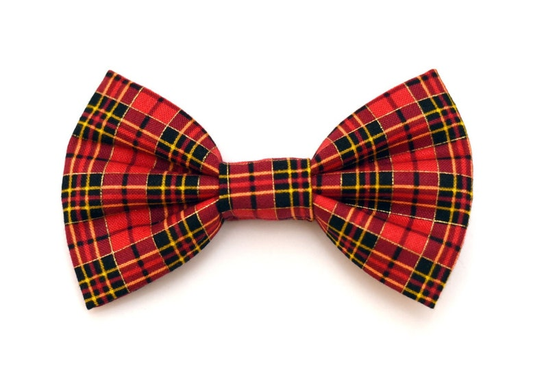 The Blackstone Bow Tie Brooklyn Bowtied Dog Bow Tie Plaid image 0