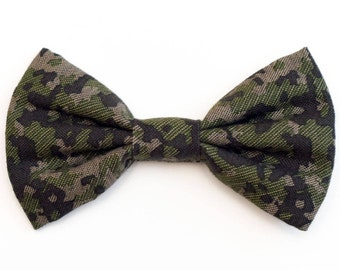 The Stryker Bow Tie —Dog Bowtie, Made in Brooklyn, Bowtied, Rainbow, Wedding Clothes, Ring Bearer, Collar, Camo, Camouflage, Army
