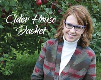 PDF Pattern Cider House Jacket Snapdragon Studios