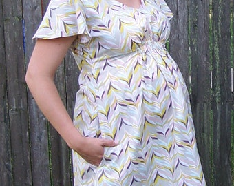 PDF Summer Jazz Dress Pattern Snapdragon Studios - Suitable for Maternity Top, Dress or Maxi!