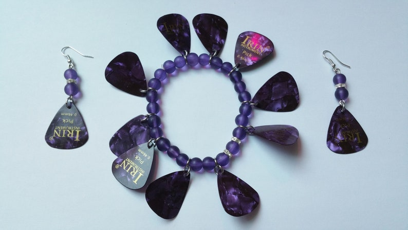 Jewelry Set Pick Purple