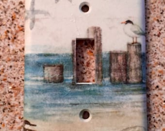Seagulls Light Switch Cover