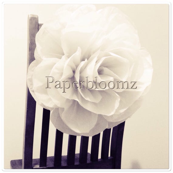 Set Of 5 X Large Paper Roses Bulk Wedding Flowers Backdrops Etsy