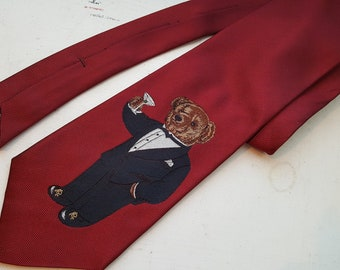 ef6743e66693 Polo Ralph Lauren Teddy Bear Martini Tie