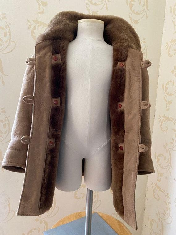 Cabana Huinca 100% Sheepskin Shearling Jacket Girl