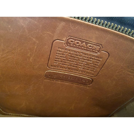 Vintage Coach 7297 Bonnie Cashin Kiss-lock  Mini … - image 4