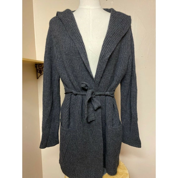 Christopher Fischer Ribbed cashmere Cardigan Hoode