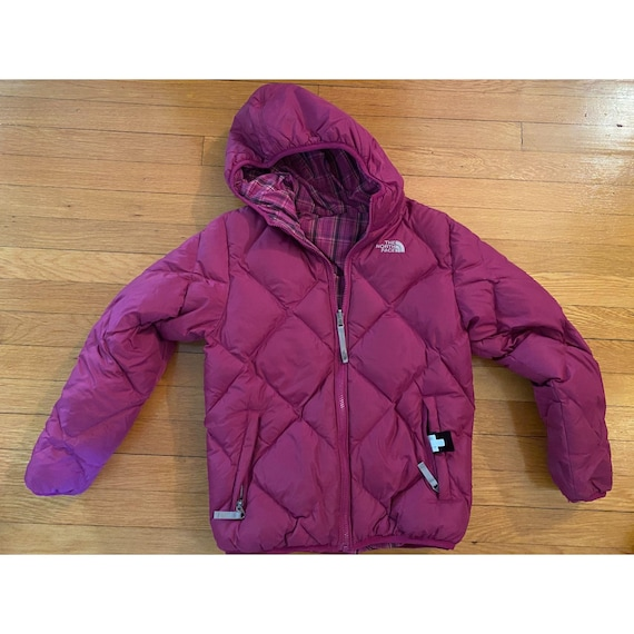 The North Face Goose Down Reverisble Puffer Jacket