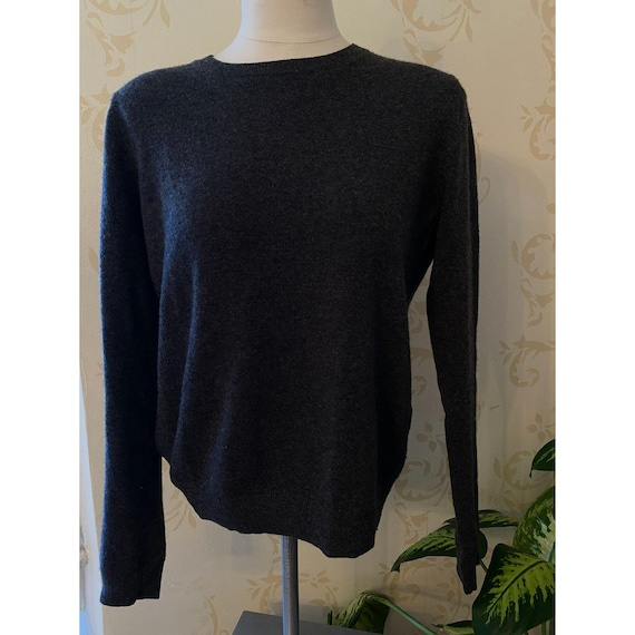 Everlane 100% Cashmere Gray Sweater Ladies Small
