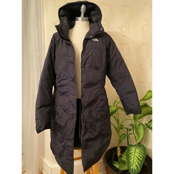 The North Face Long Black Down Jacket Puffer Ladie