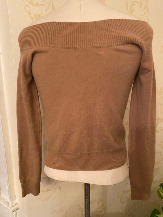 New! Vincent Miller Fitted Boatneck 100% Cashmere