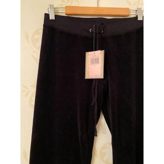 Vintage New Juicy Couture Black Sweatpants Ladies