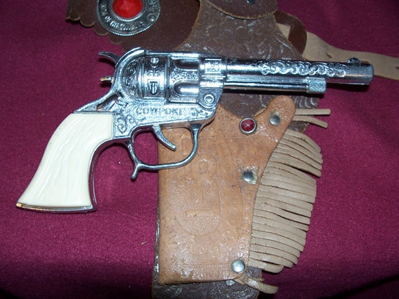 ROY ROGERS HOLSTER cap gun and holster
