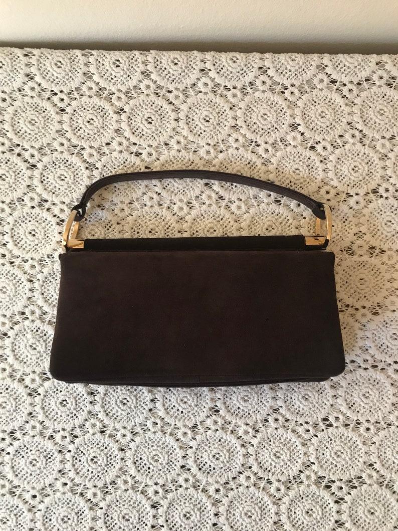 5885563dbf455 Charles Jourdan Bag/Designer Bag/brown velvet bag/velvet bag/evening  bag/velvet clutch/special occasion bag/velvet purse bag/opera bag