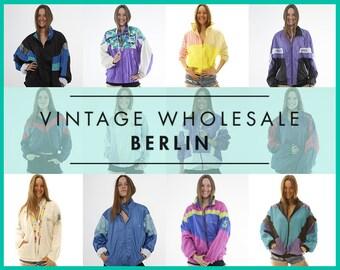 Bitte kontaktieren Sie uns, bevor Sie bestellen! Jahrgang SHELL WINDBREAKER Jacken, Sport, Konvolut 10 Artikel, Großhandel, 80er, 90er Jahre, bereit für den Weiterverkauf