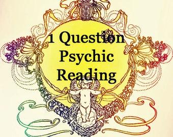 1 Question Psychic Reading  Lynn Kinman Psychic Medium  Tarot Reading Email Reading Love Future Emergency Reading Career 24 Hour Fast