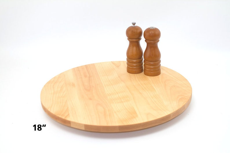 Hardwood Lazy Susan, Turntable, Handmade Lazy Susan, Turning Hardwood Server