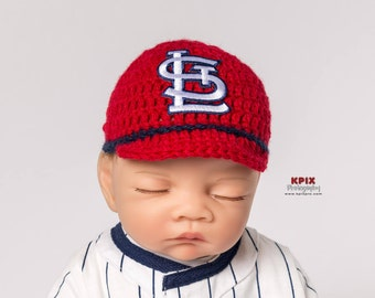 St. Louis Cardinals baby boy, girl hat, newborn, preemie size available