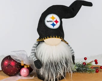 Pittsburgh Steelers Christmas Gnome Claus the Scandinavian