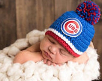 Chicago Cubs hat baby boy, girl, newborn, preemie