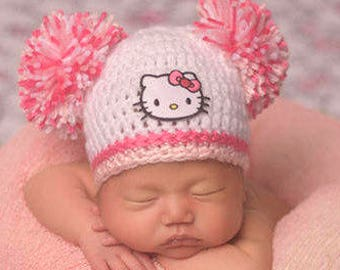 Hello Kitty baby girl hat dcbc53f3ebdf