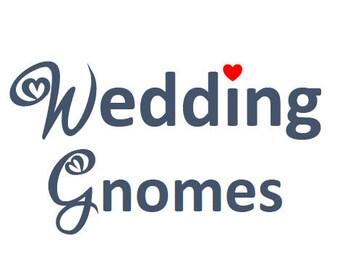Wedding Gnomes - Bridal Show Special -  Claus the Scandinavian