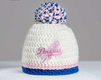cba64b58434 Los Angeles Dodgers baby hat