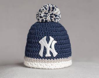 Custom order for Anita - New York Yankees 1 Blue + 1 Pink