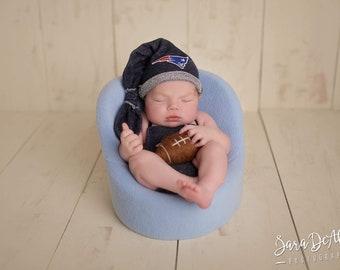 New England Patriots outfit baby boy, girl, newborn, preemie
