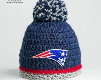 New England Patriots hat baby boy, girl, newborn, preemie