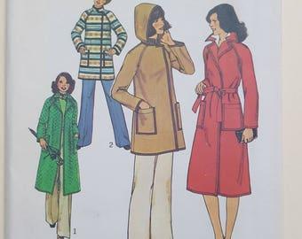 Simplicity Jacket Coat Pattern Sizes 6-8  #7936