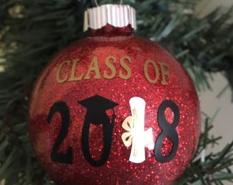 Class of 2018 Ornament