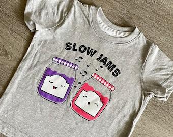 Slow Jams Hip Hop Toddler Graphic Tshirt