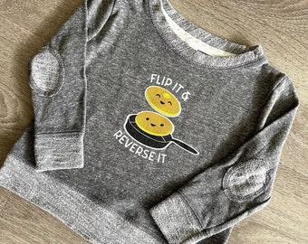 Flip it Pancake Toddler Graphic Sweatshirt