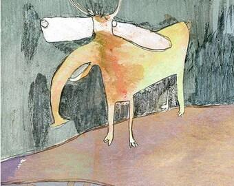 Art Print 20x30 | deer | Martina Lengers