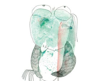 Art Print 20x30 | titmouse | Martina Lengers