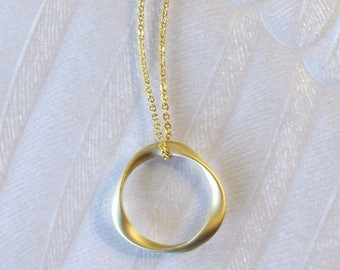 Eternal Bond Necklace, gold eternity necklace, miscarriage, miscarriage necklace, stillborn, memorial jewelry, infant loss, baby loss