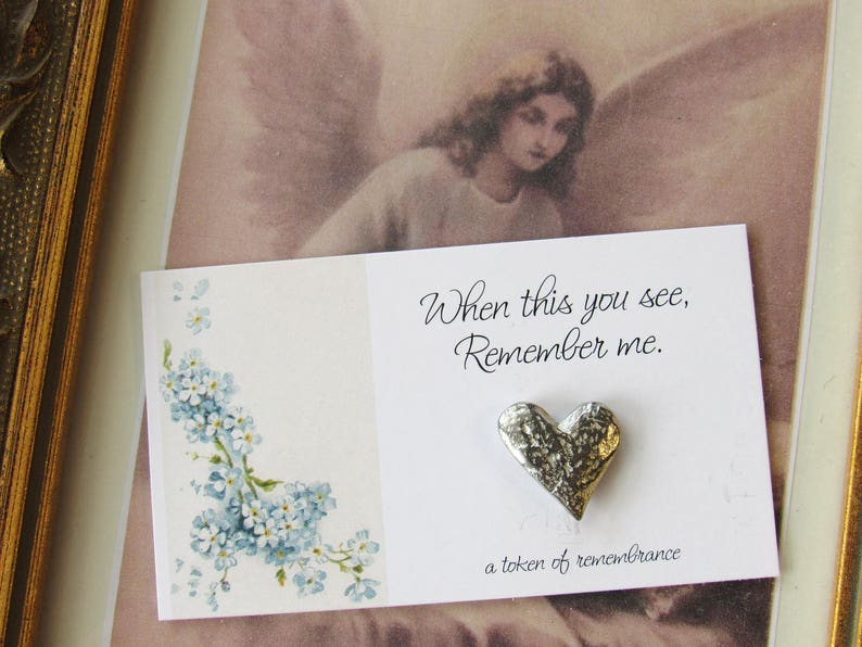 When This You See Remember Me child loss baby loss angel token miscarriage Angel Pocket Tokens mothers day memorial pocket token