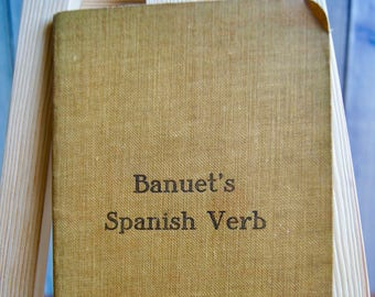 Verb conjugation | Etsy