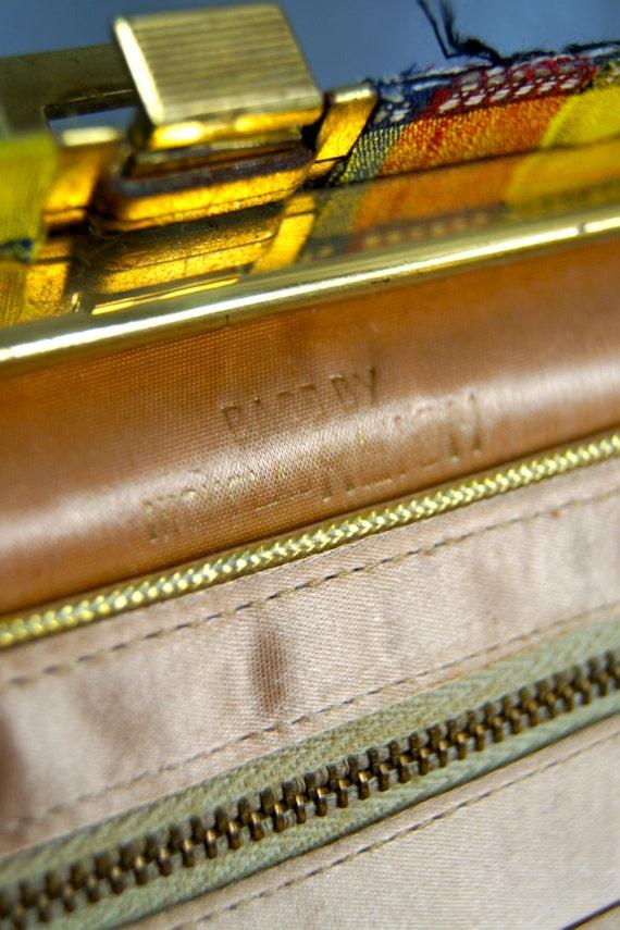 Vintage Nicholas Reich Purse Bag Handbag 1960s To… - image 5