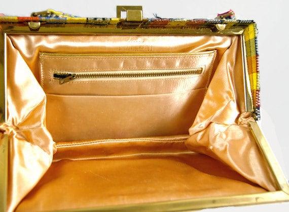 Vintage Nicholas Reich Purse Bag Handbag 1960s To… - image 3