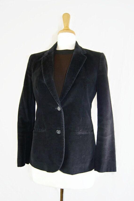 1980's Vintage Buffums Black Women's Blazer Jacket