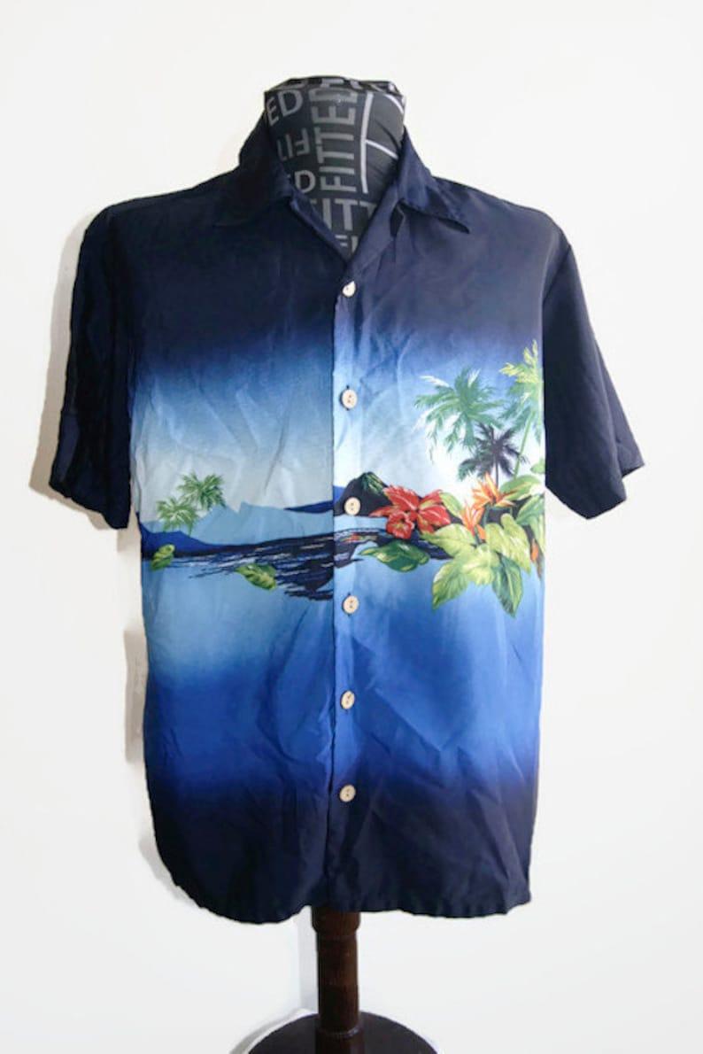 1c988532 Vintage Kennington Ltd California Hawaiian Shirt Men's | Etsy
