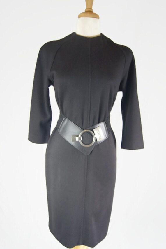 Black Vintage 1960's Jonathan Logan Dress
