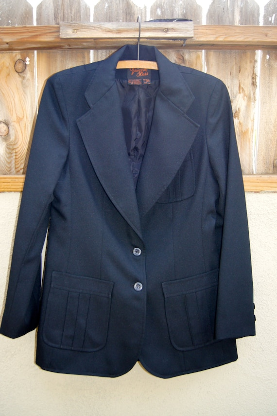 Vintage Vincent Ross Black Women's Jacket Blazer